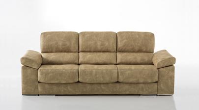 Silver sof de 3 4 plazas asientos deslizantes de 68 cm for Sofa 4 plazas asientos deslizantes