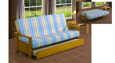Leitariegos sof de 3 plazas cama libro nido cerezo for Sofa cama de libro